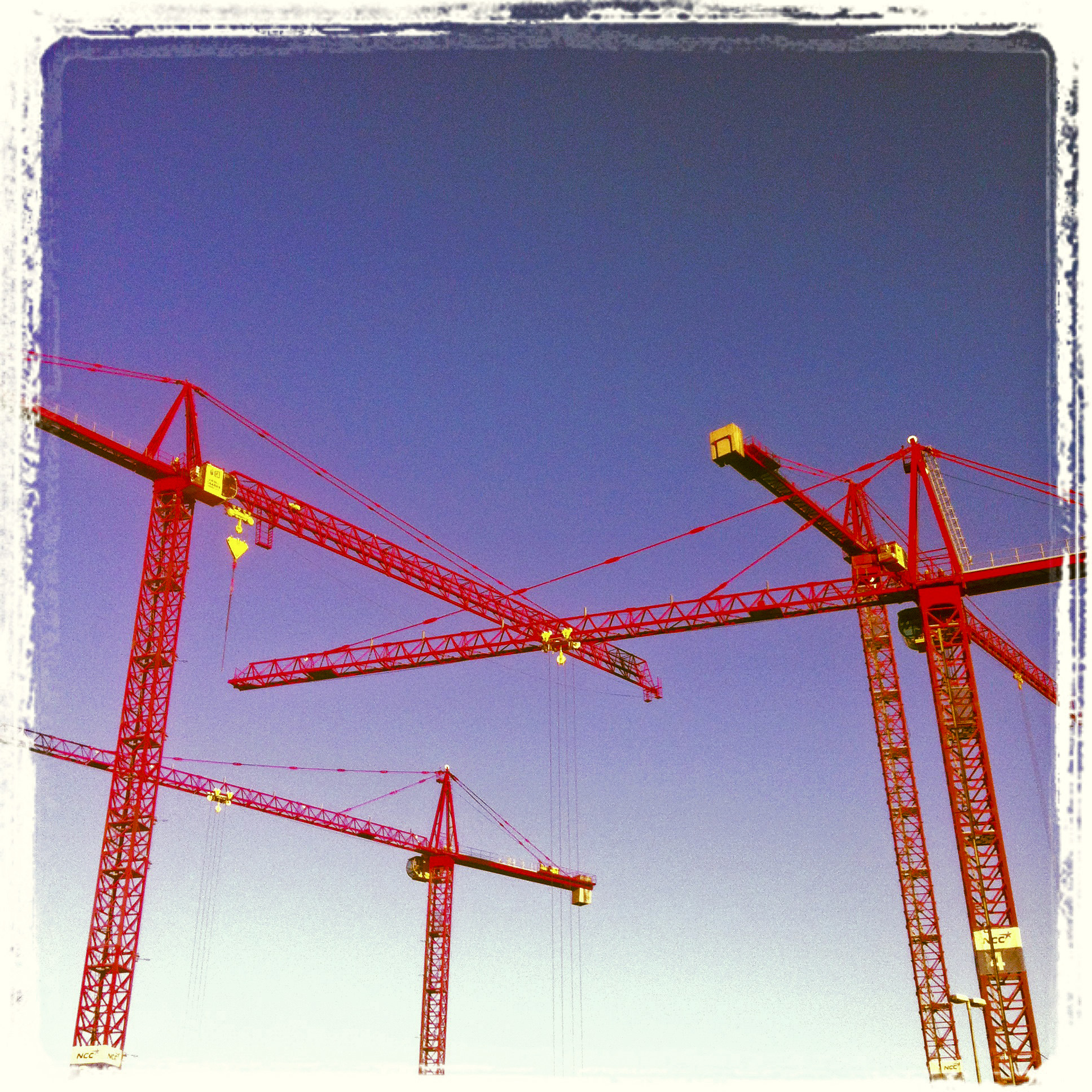 The cranes. 07.12.12 ©lowereast.dk