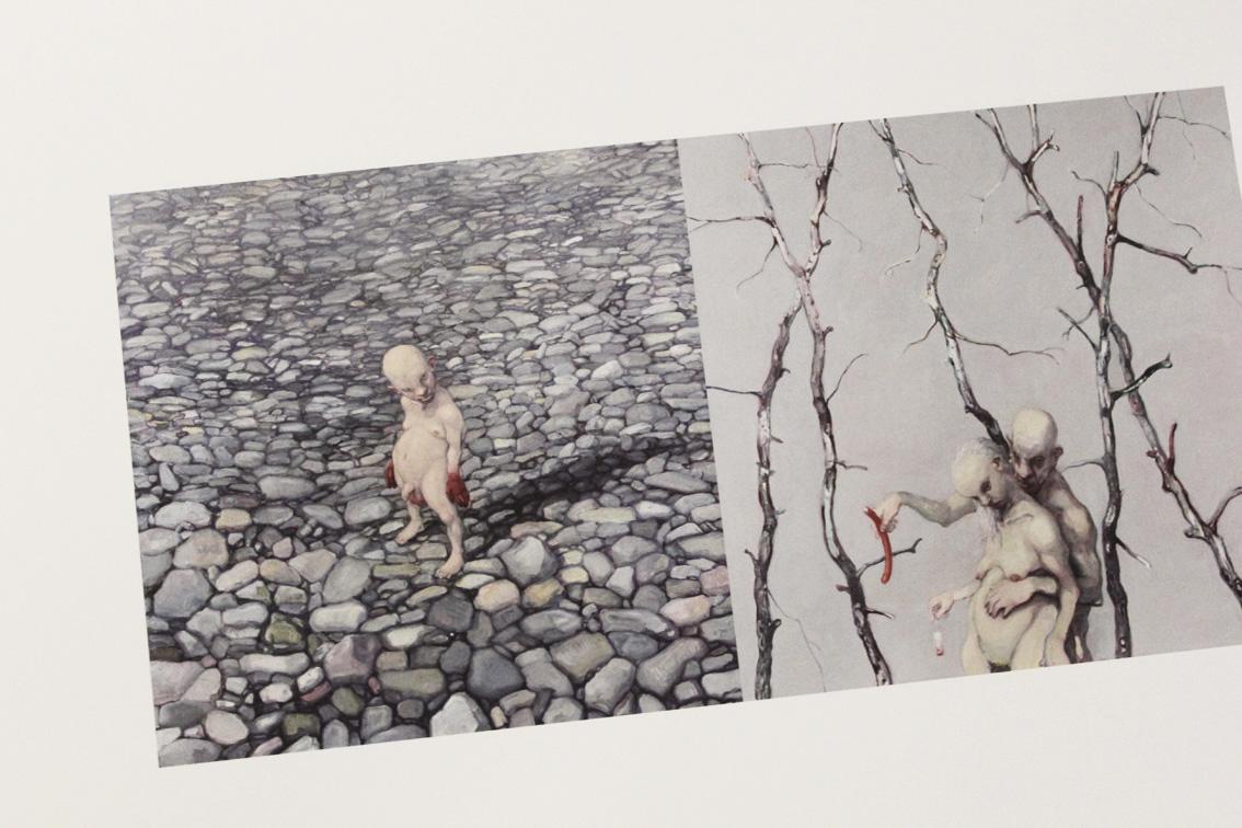 """real monsters. michael kvium""  ©lowereast.dk"