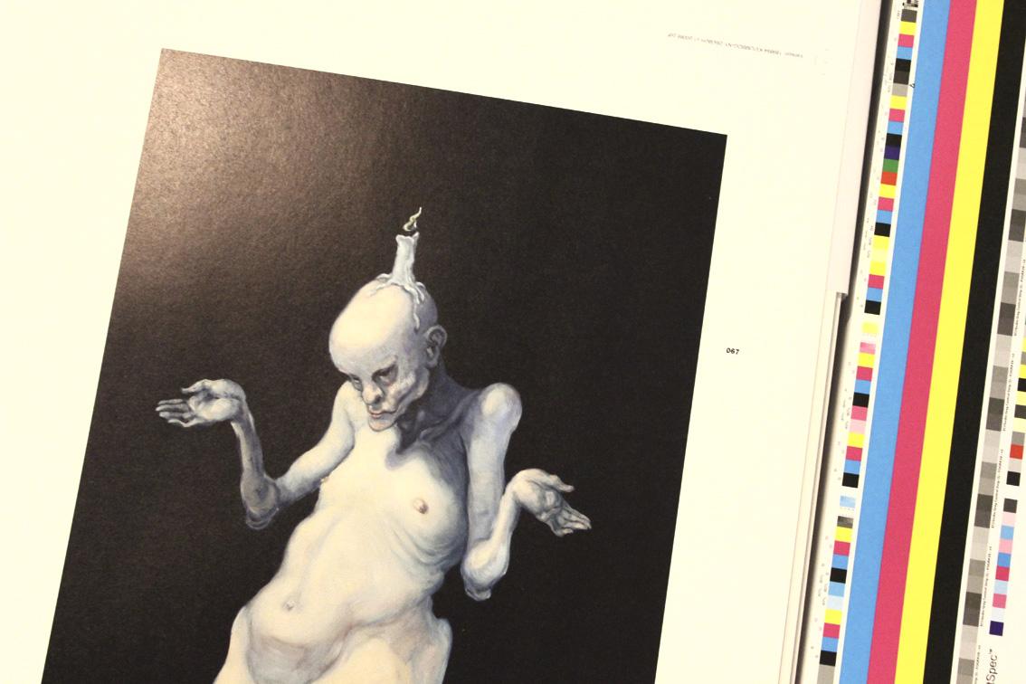 """real monsters. michael kvium"". ©lowereast.dk"