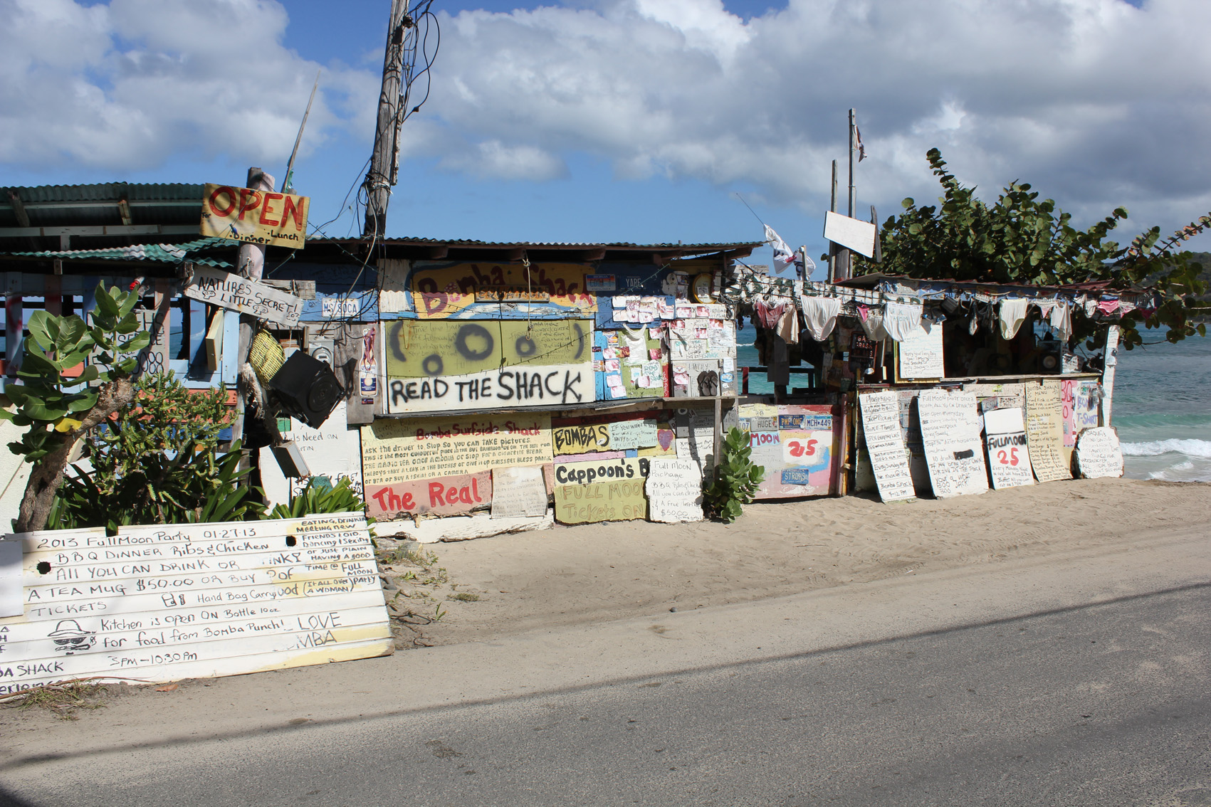 Caribbean typography  ©lowereast.dk