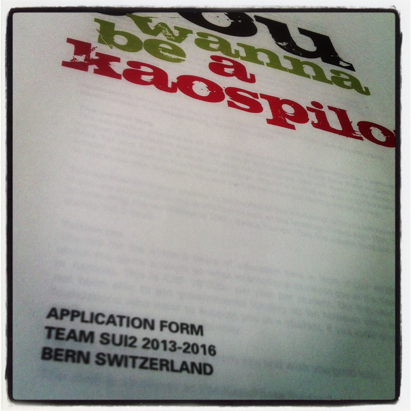 The application form ©lowereast.dk