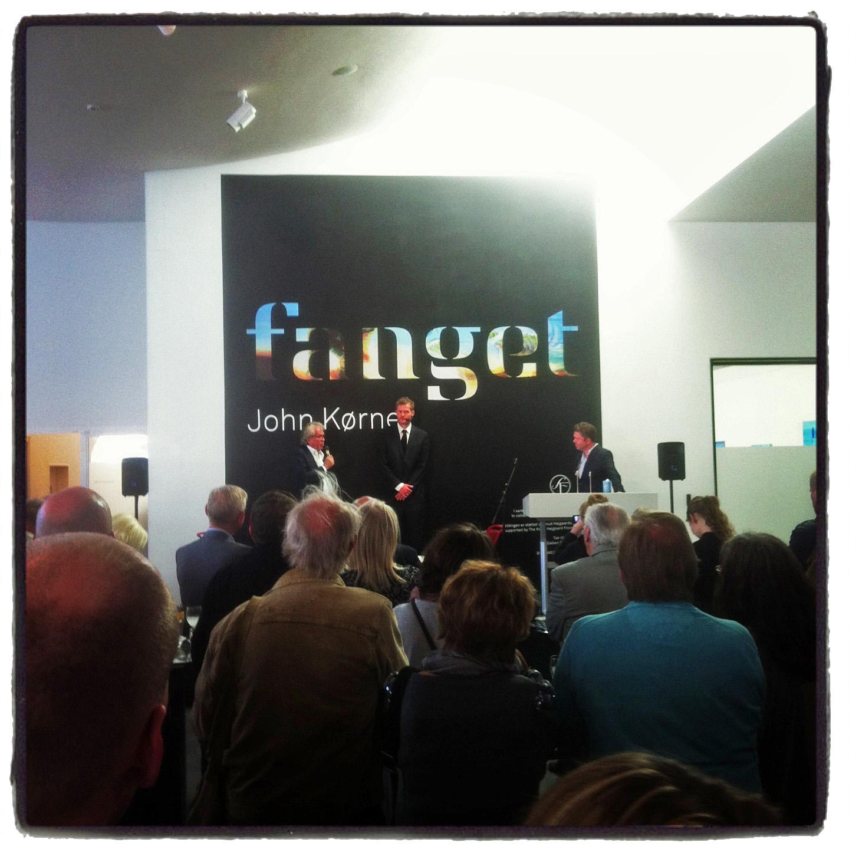 """Fanget"" John Kørners exhibition on HEART"