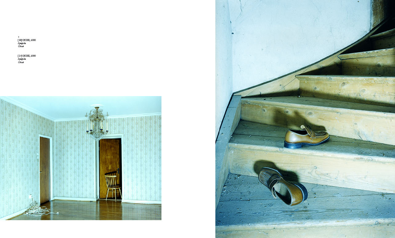 Double spread from the catalogue  © Lower East & Annika von Hausswolff