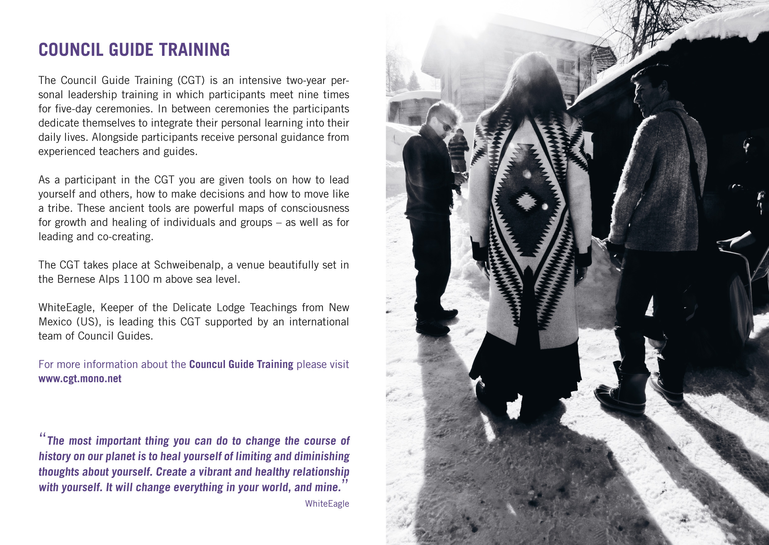 Council Guide Training  ©lowereast.dk