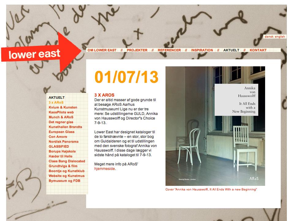 The web ©lowereast.dk