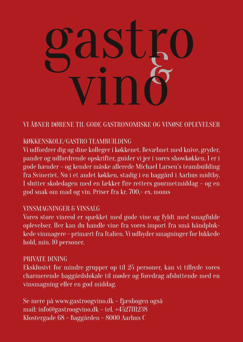 gastro & vino postcard  ©lowereast.dk