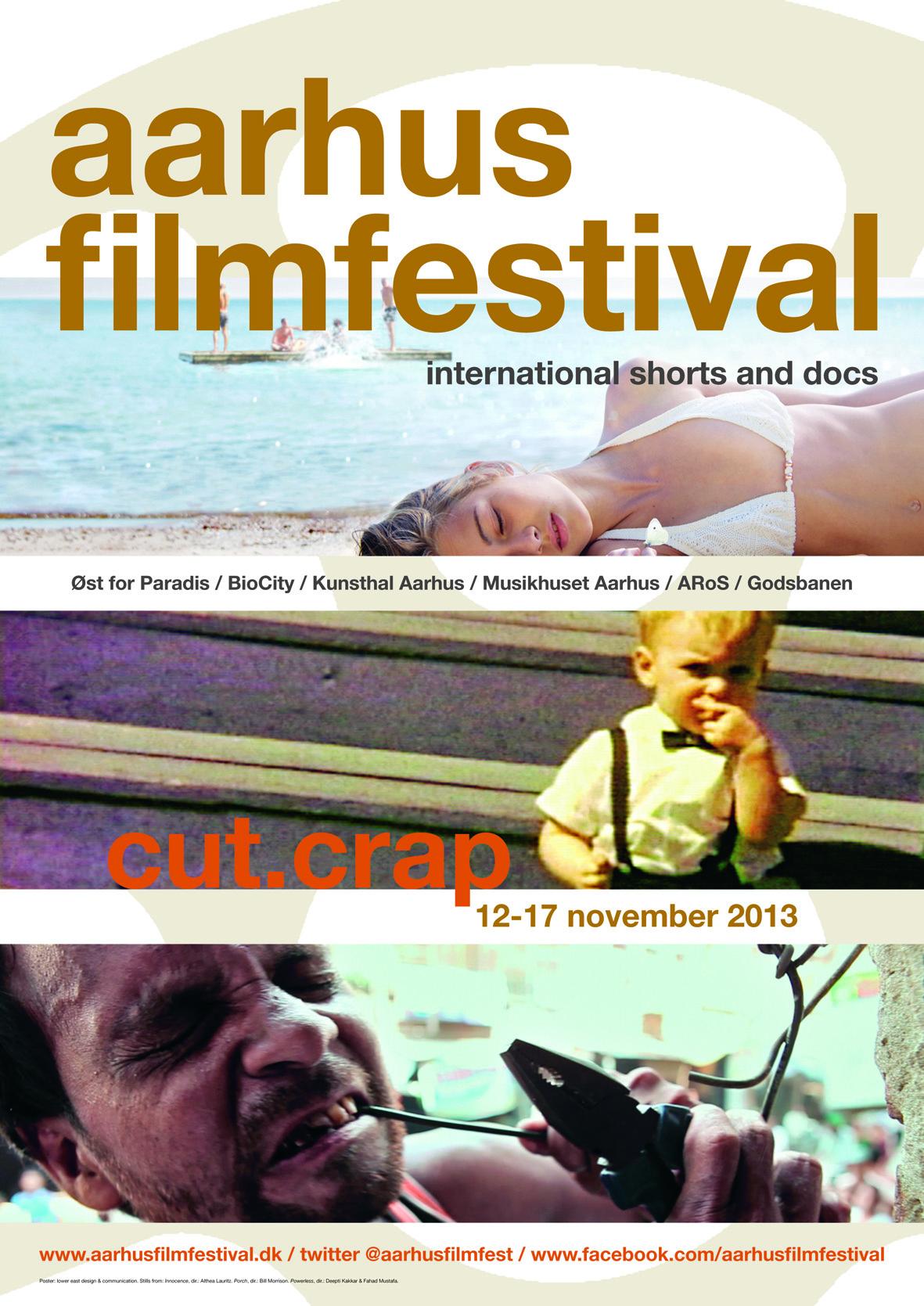 Poster Aarhus Filmfestival 2013 ©lowereast.dk