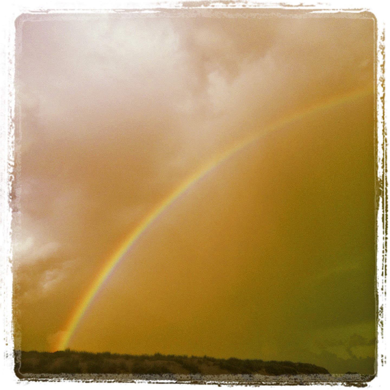 Early morning rainbow 31.07.13 ©lowereast