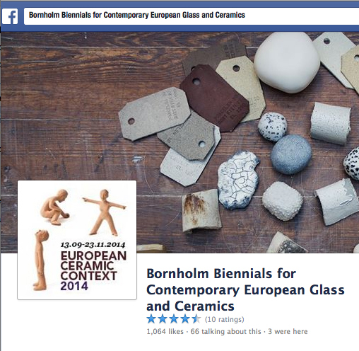Facebook profile picture with clay figures by Louise Birch. Process work on cover photo by Trine Tofte Lyngsholm  © lowereast.dk