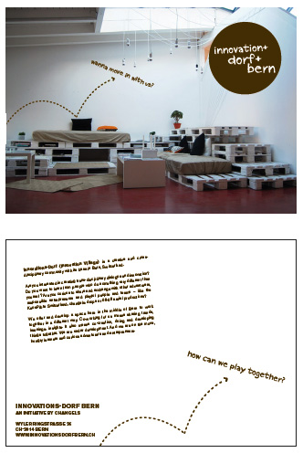 Postcard innovationsdorf Bern ©lowereast