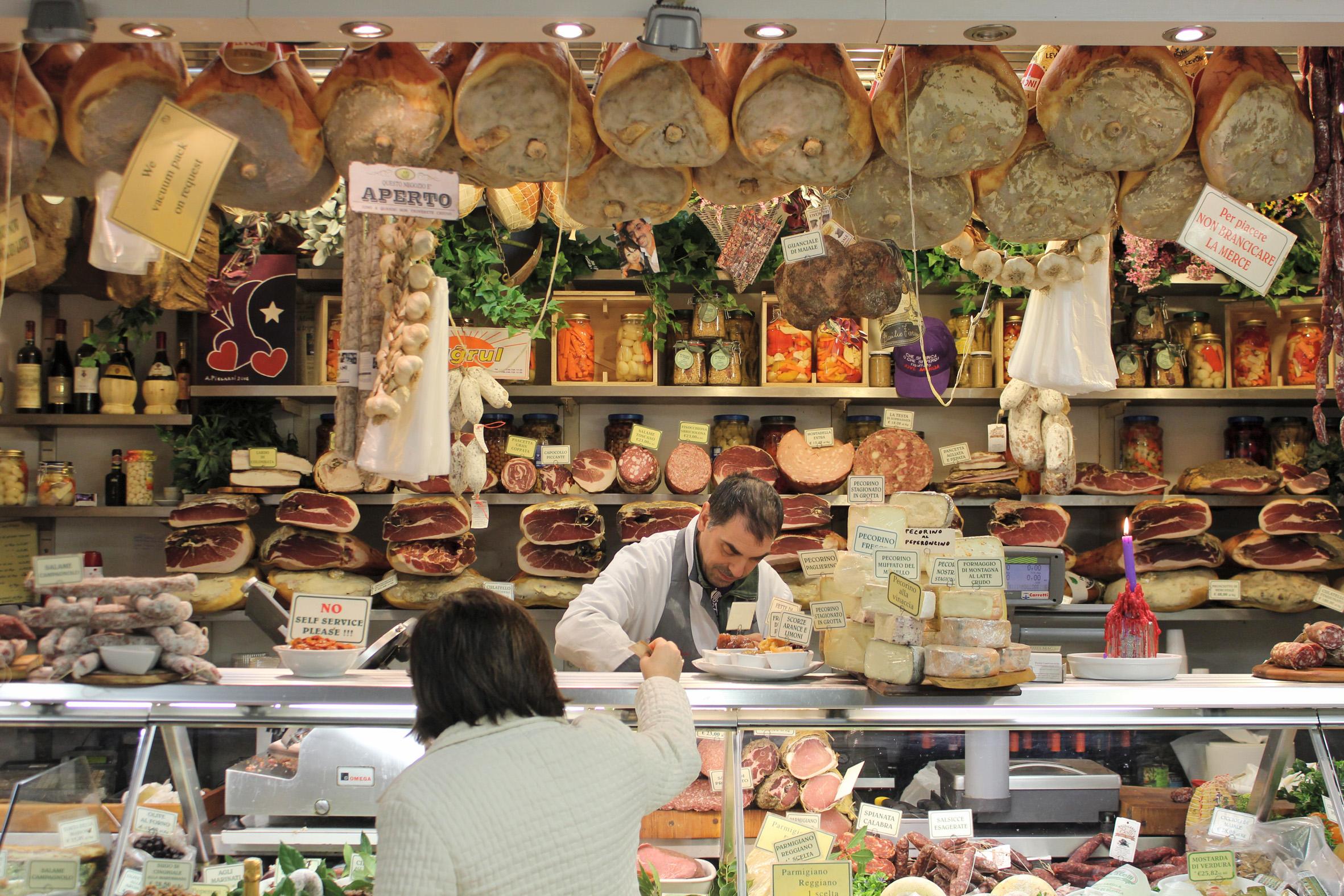 Mercato Centrale. Market in Firenze ©lowereast