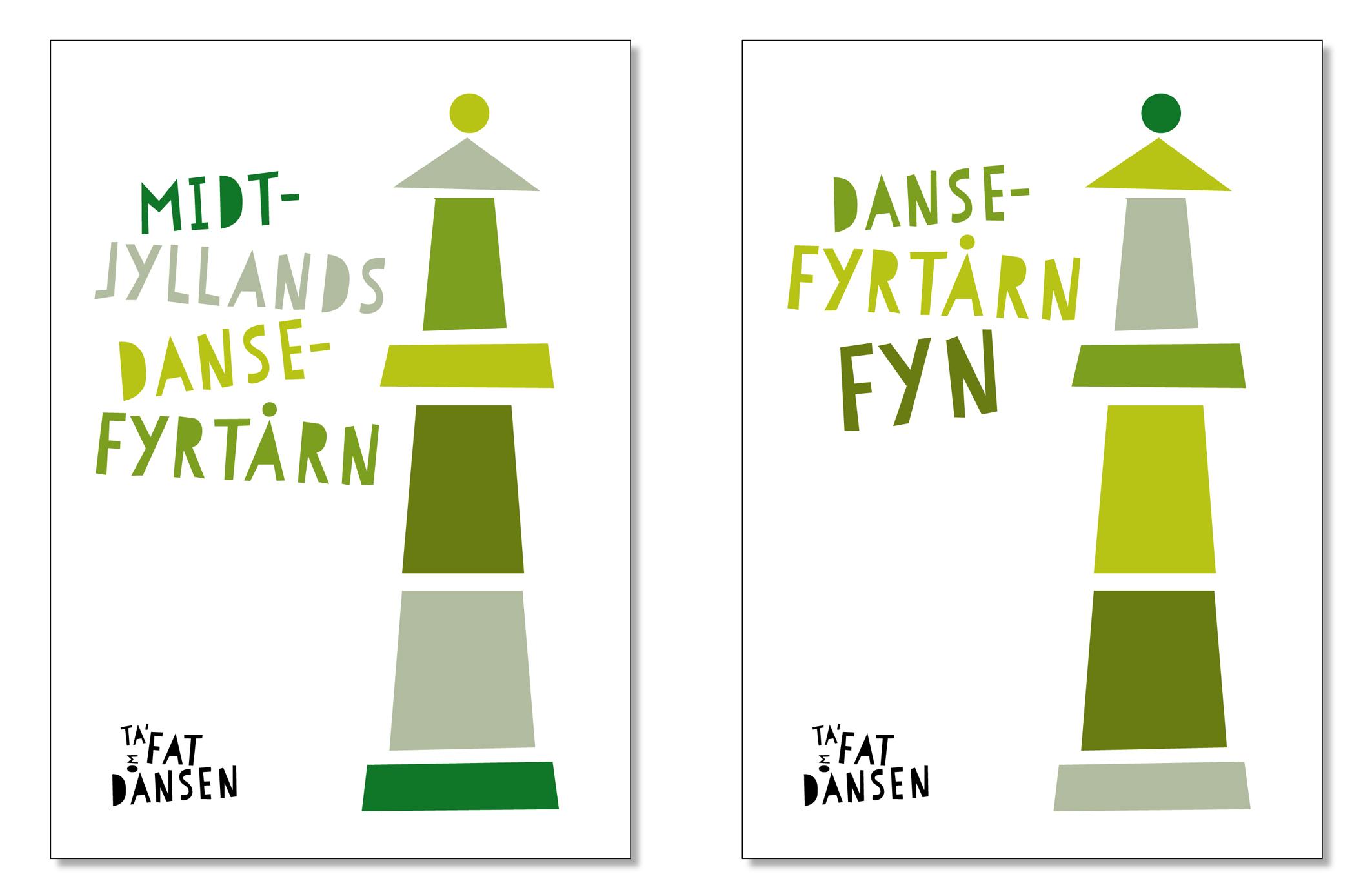 "Logo ""Danse Fyrtårn"" (dance lighthouses) ©lower east"