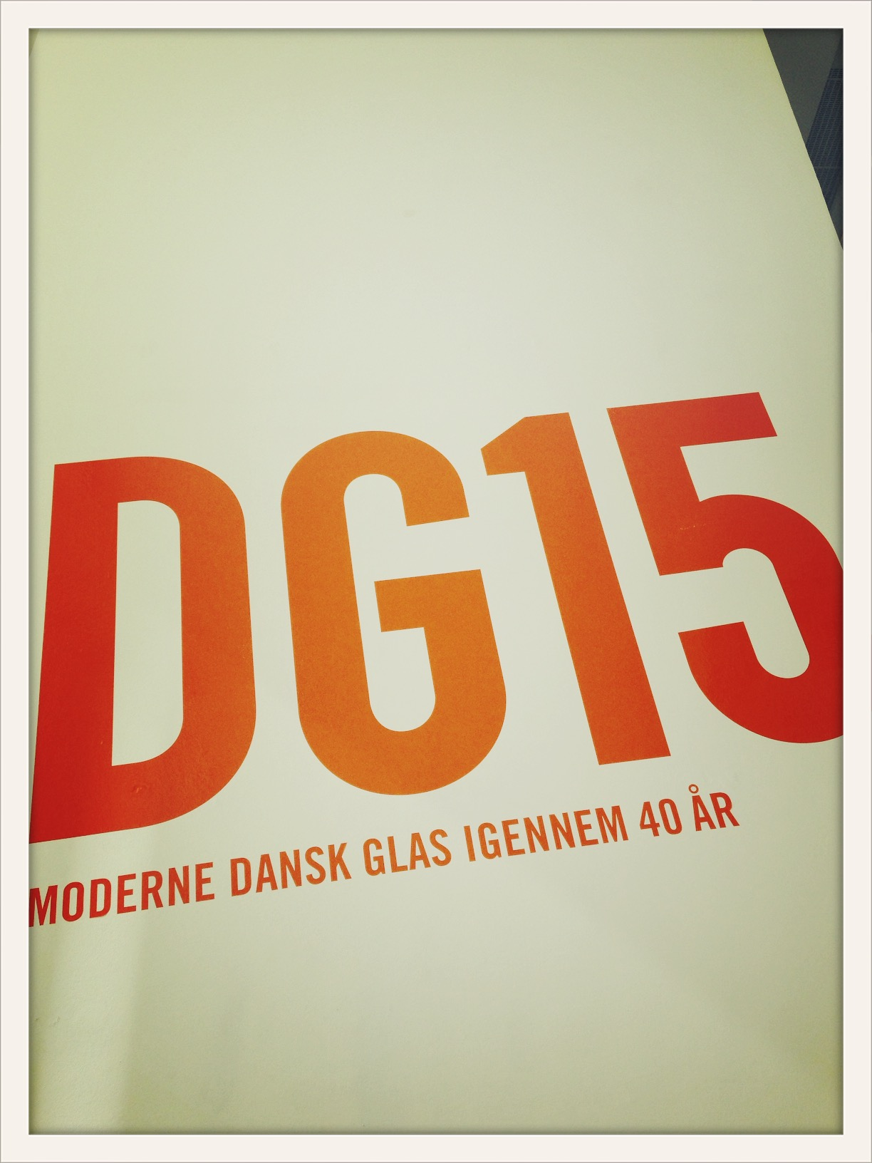"""""""DG15– 40 years of contemporary glass in Denmark"""" ©lowereast"""