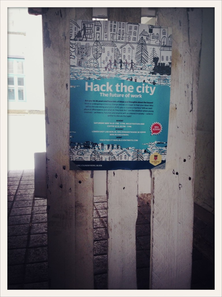 Hack the city. Lower East Lab Berlin ©lowereast