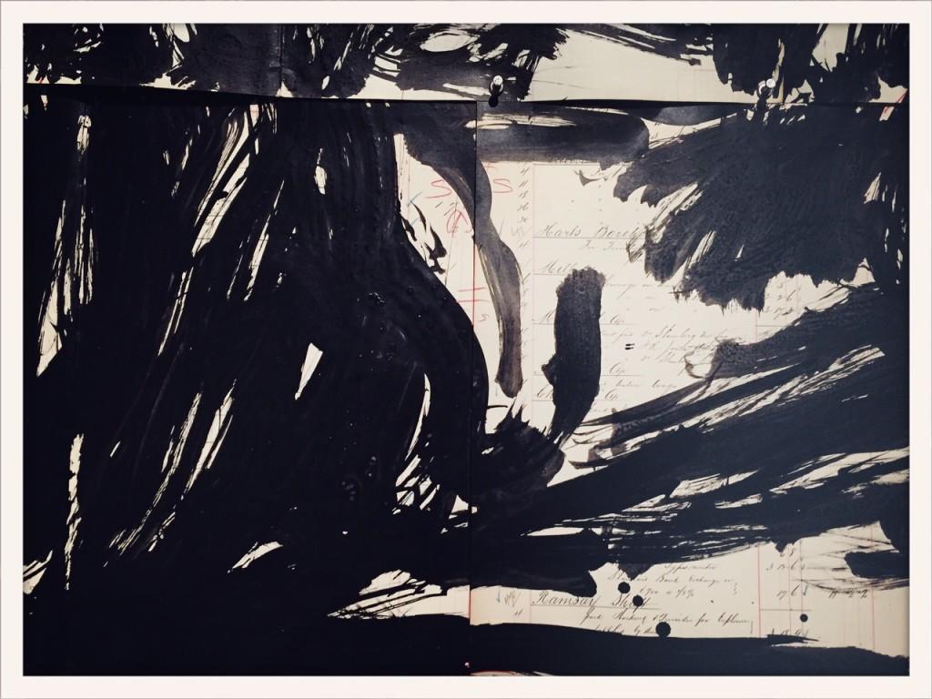 Work by William Kentridge, Venice Art Biennale 2015 © photo Lower East