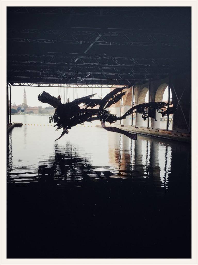 Xu Bing: The Phoenix, Venice Art Biennale 2015 © photo Lower East