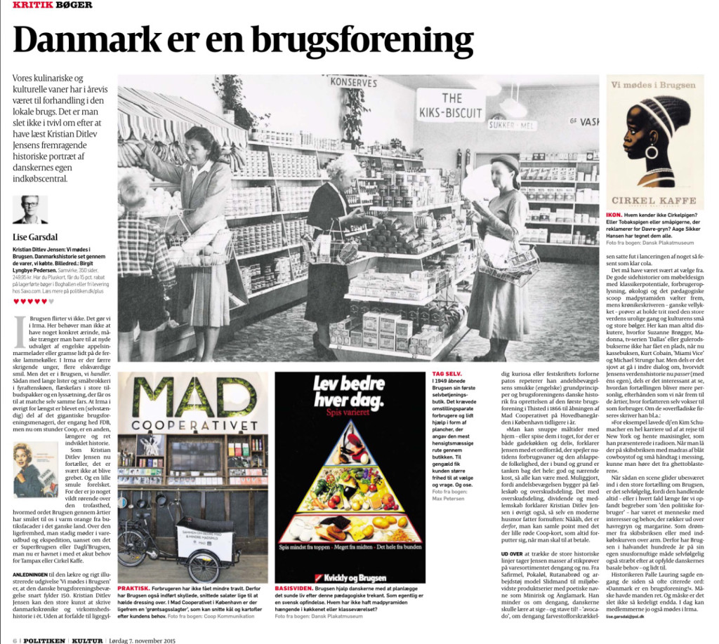 "A very good review in the danish newspaper ""Politiken""."