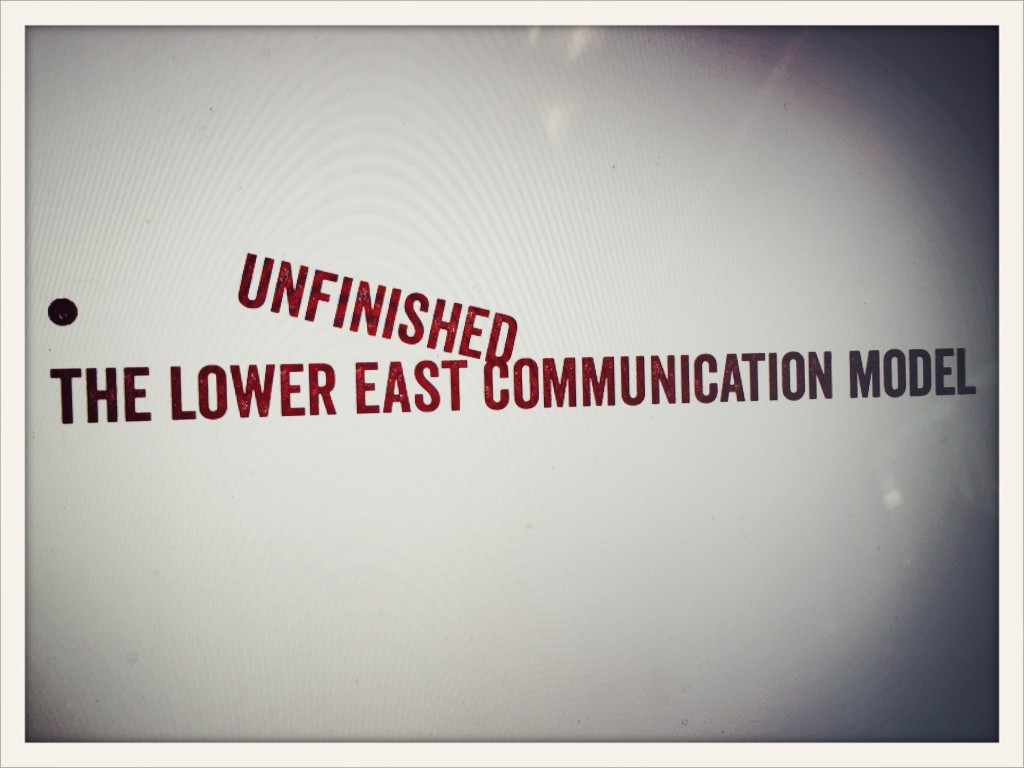 the lower east communication model © lower east